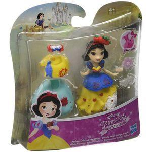 POUPÉE Figurine Mini Princesses Poupée Blanche Neige et a