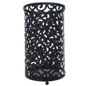 porte parapluie metal noir achat vente porte parapluie. Black Bedroom Furniture Sets. Home Design Ideas