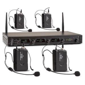 MICROPHONE - ACCESSOIRE Malone Duett Quartett Fix V3 Set 2 micros à main &