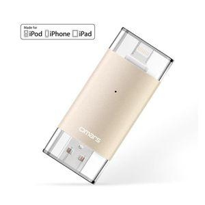CLÉ USB Clé USB 128Go pour iPhone iPad iPod [Certifié Appl