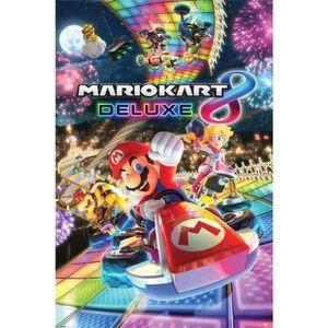 AFFICHE - POSTER Affiche Maxi Mario Kart 8 Deluxe