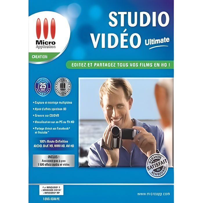 MULTIMÉDIA STUDIO VIDEO ULTIMATE / Logiciel PC