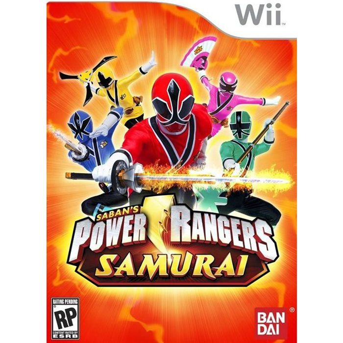 power rangers samurai jeu console wii achat vente jeux wii power rangers samurai wii. Black Bedroom Furniture Sets. Home Design Ideas