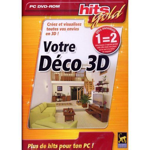 JEU PC VOTRE DECO 3D / LOGICIEL PC CD-ROM