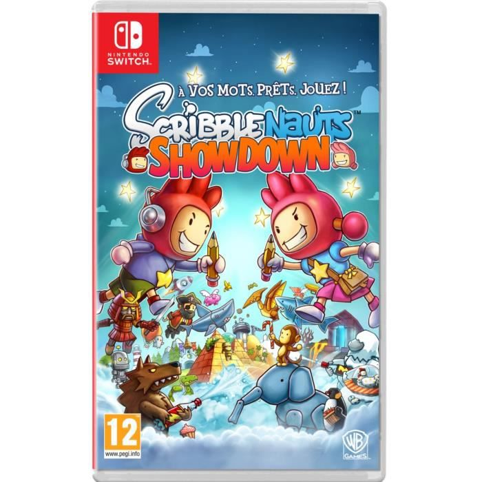 Scribblenauts Showdown Jeu Switch