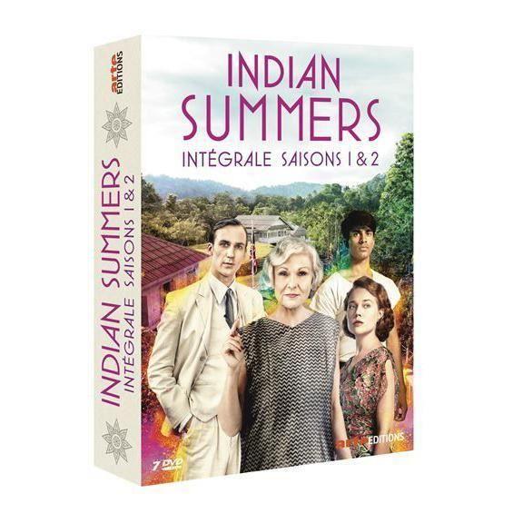 Arte vidéo Coffret Indian Summers Saisons 1 et 2 DVD - 3453277310179