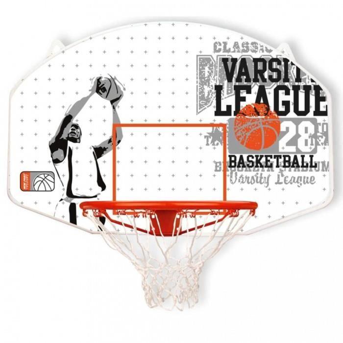 Panneaux de basket-ball New Port Panneau de basket avec panier Fibre de verre 16NY-WGO-Uni