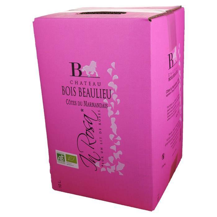 Bag-in-Box 10L Château Bois Beaulieu Rosé AOC Côtes du Marmandais - Vin Rosé