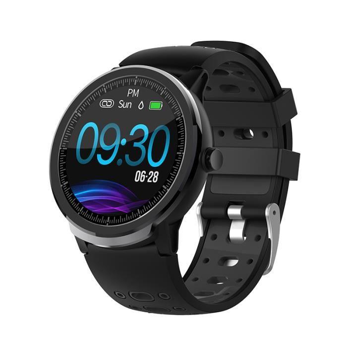 Black Nouveau NORTH EDGE N21 montre intelligente Bluetooth hommes pression artérielle ronde Smartwatch femmes montre étanche IP67 Sp