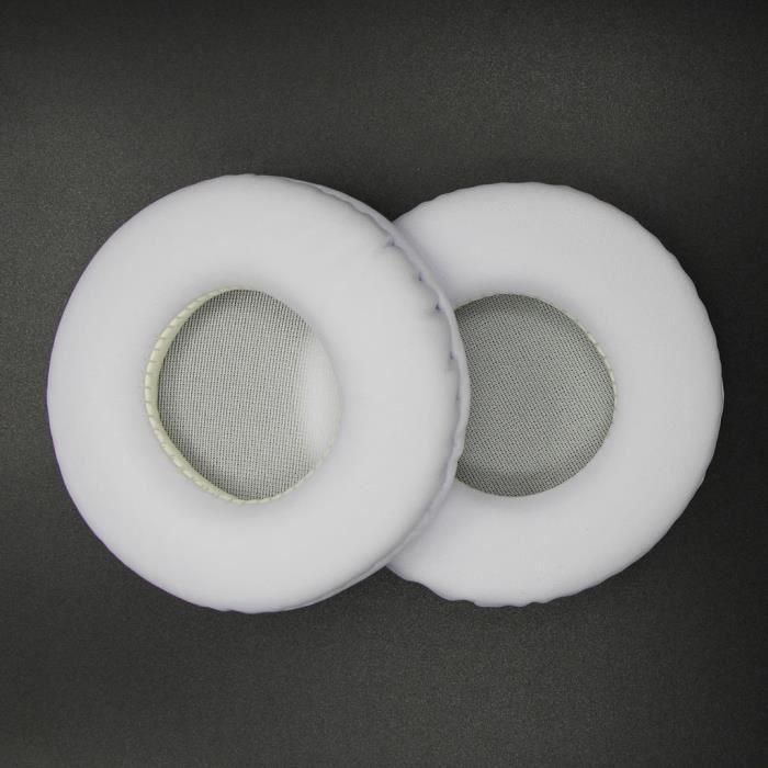 Coussinets d'oreille de remplacement Coussins pour Audio-Technica ATH-WS99 WS70 pour Sony MDR-V55 la411
