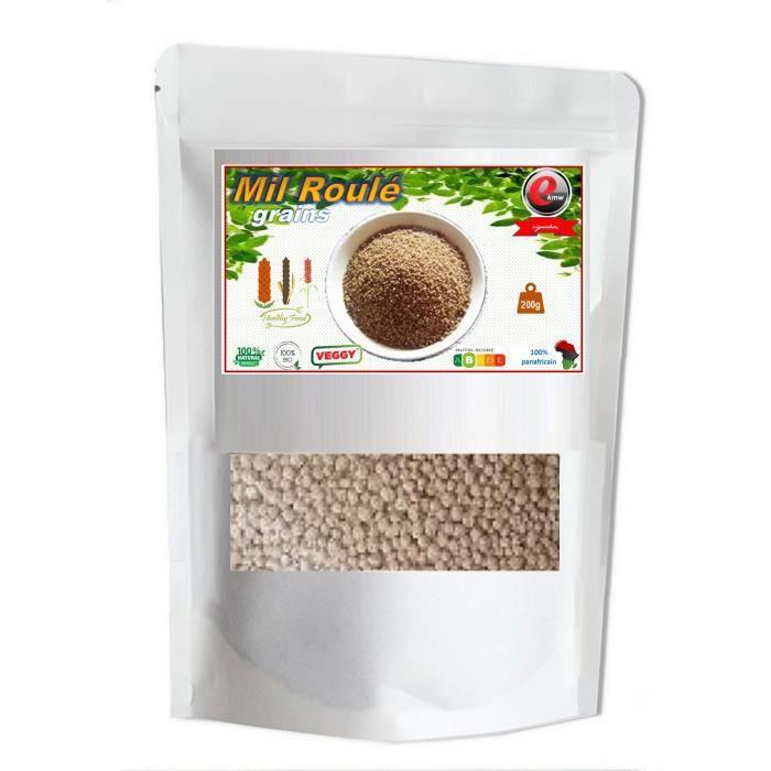 Farine de Mil roulée - Qualité supérieure - 200g