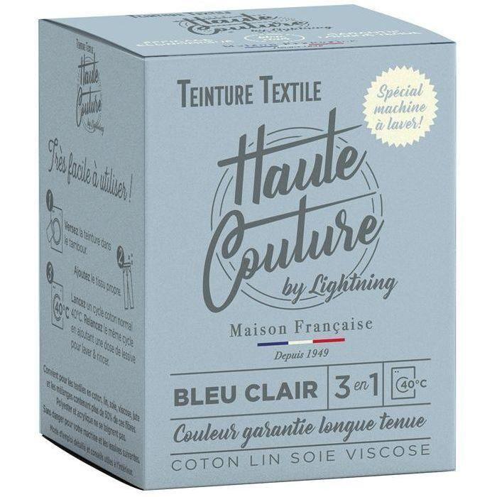Teinture textile haute couture bleu clair 350g
