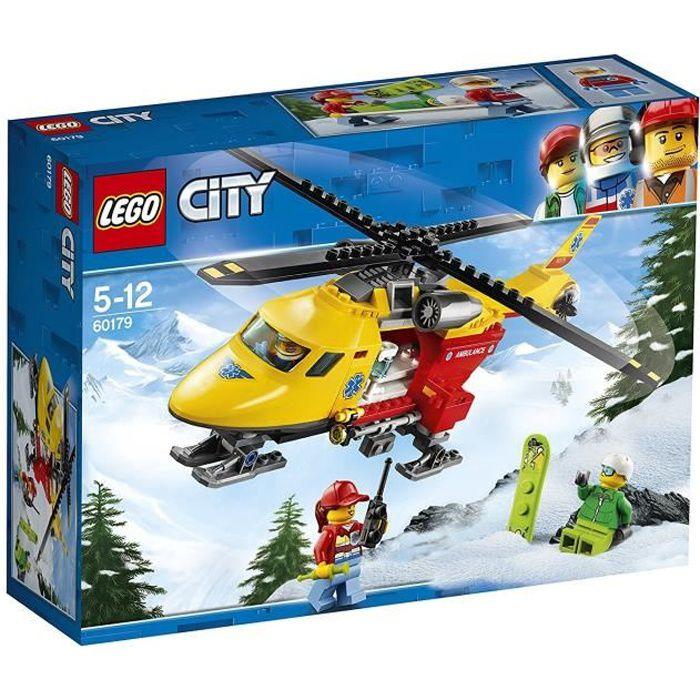 LEGO® City 60179 L'hélicoptère-ambulance