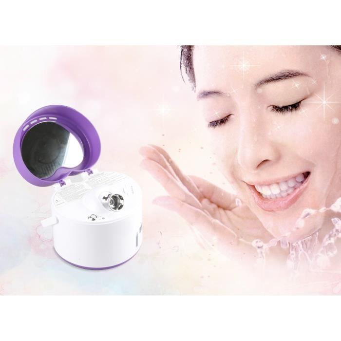 Appareil de pulvérisation blanchissant machine à peau pour nettoyant visage et corps Portable visage Steame la brume