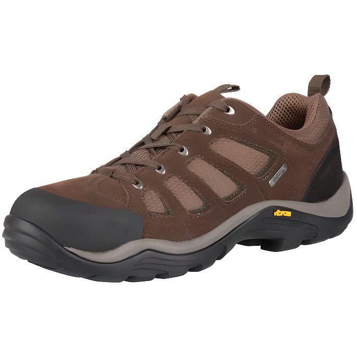 Field Chaussures de Marche Homme Vibram Etanche Randonnée Suede Durable h