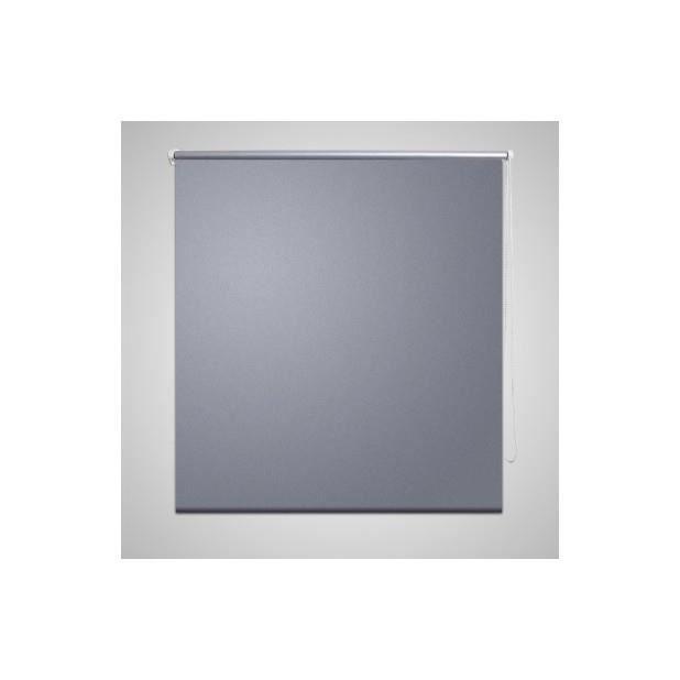 Store enrouleur occultant 140 x 230 cm gris