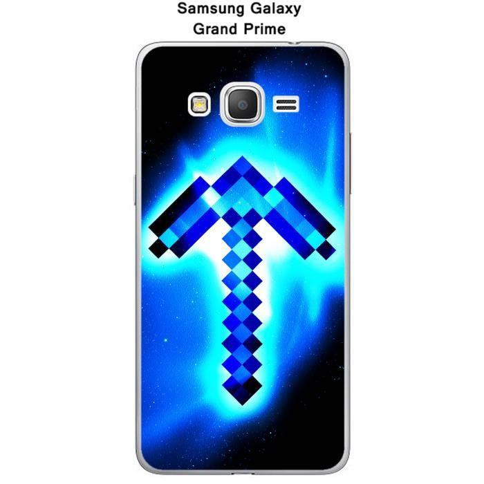 Coque Samsung Galaxy Grand Prime Minecraft - 3 - Cdiscount Téléphonie