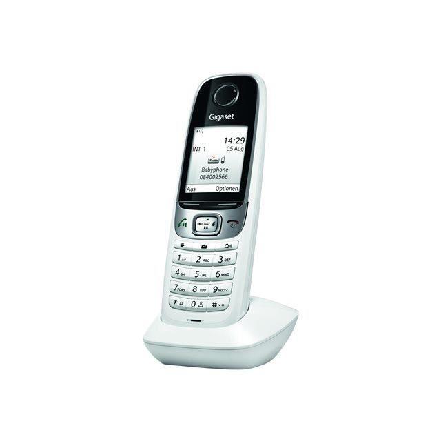 website for discount release date: buy Combiné DECT Gigaset C620H blanc, noir - Achat téléphone ...