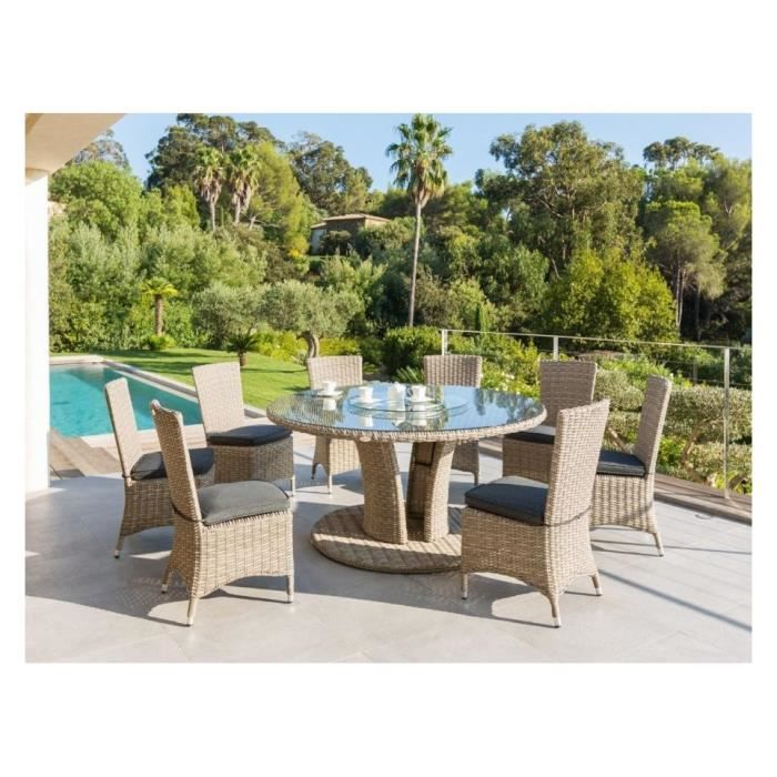 table floride ronde exterieur hesperide achat vente table de jardin table floride ronde ext. Black Bedroom Furniture Sets. Home Design Ideas