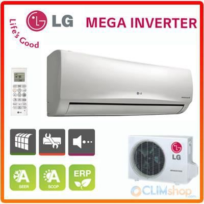 climatisation r versible lg mega inverter e12el nsh achat vente climatiseur climatisation. Black Bedroom Furniture Sets. Home Design Ideas