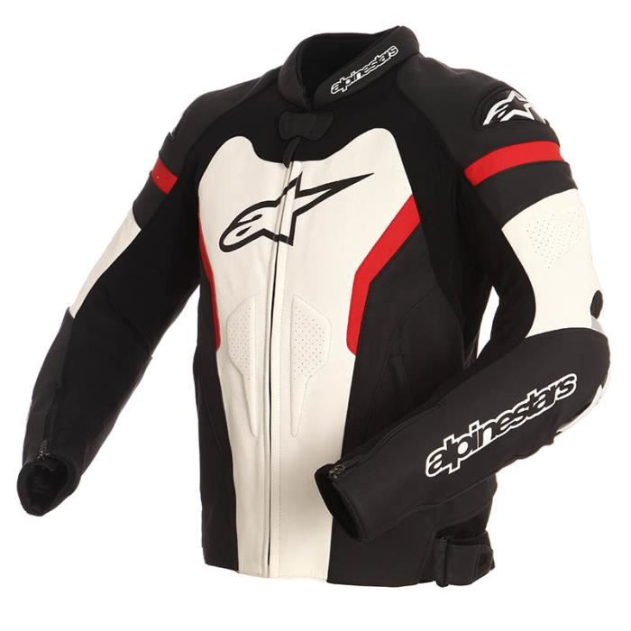 blouson moto cuir alpinestars gp pro 2016 noir achat vente blouson veste blouson moto. Black Bedroom Furniture Sets. Home Design Ideas