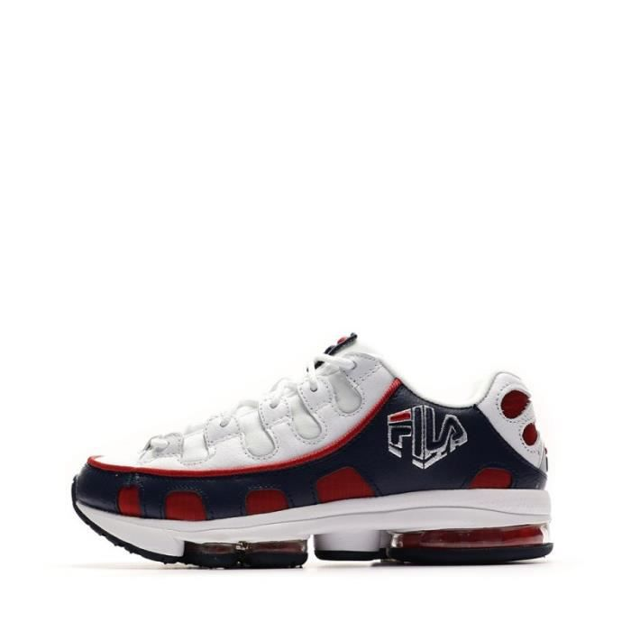 Fila Silva Trainer Baskets rougebleu homme Multicouleur