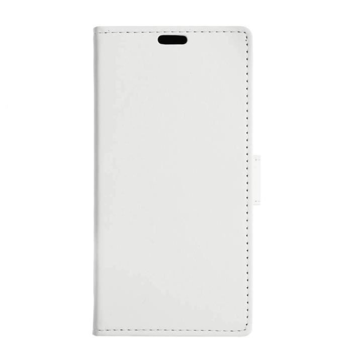Compatible wiko lenny 3 4g jamie blanc housse etui for Housse wiko lenny 4
