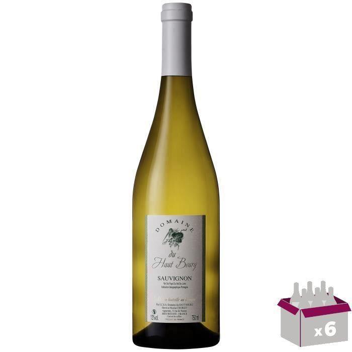 Domaine du Haut Bourg 2017 Sauvignon - Vin blanc du Vallée de la Loire