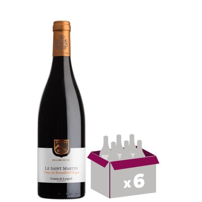 Le Saint Martin 2017 Côtes du Roussillon Villages - Vin rouge du Languedoc Roussillon