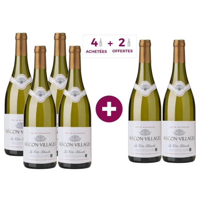 Cave de Lugny 2017 Mâcon-Villages - Vin blanc de Bourgogne
