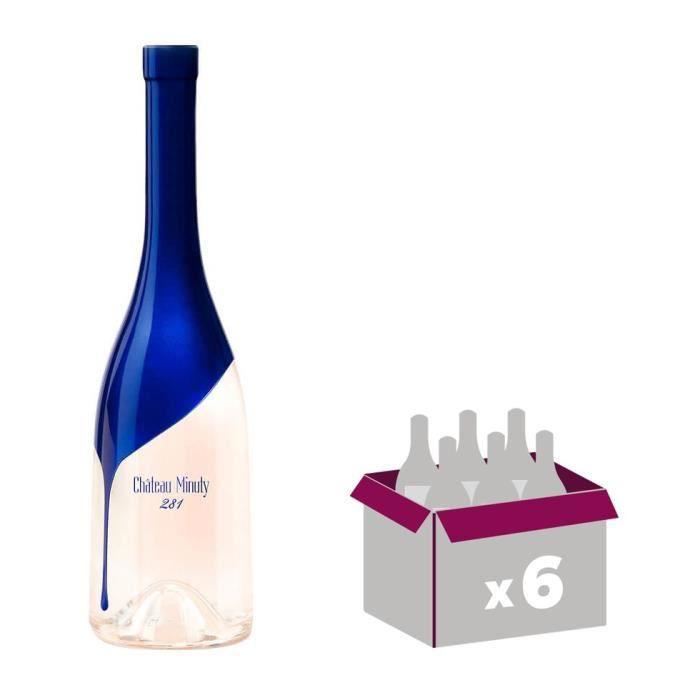 Château Minuty Cuvée 281 2017 Côtes de Provence - Vin rosé de Provence