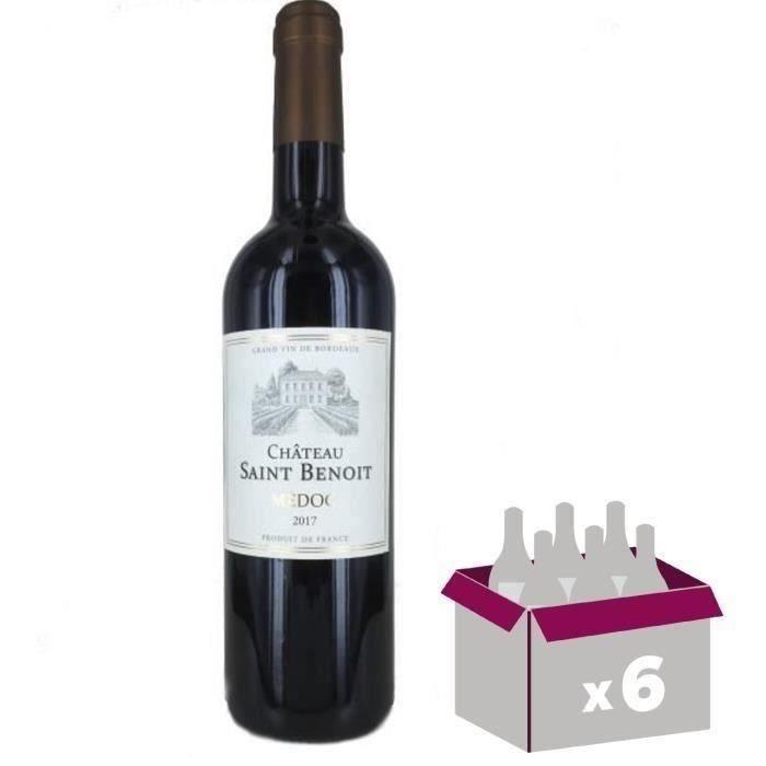 Château Saint Benoit 2017 Médoc Vin Rouge de Bordeaux