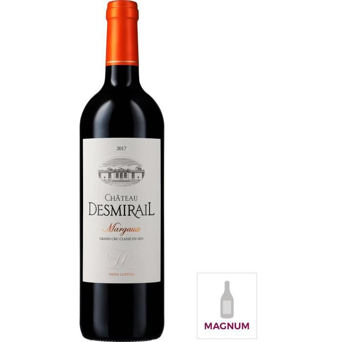 Magnum Château Desmirail 2017 Margaux - Vin rouge de Bordeaux