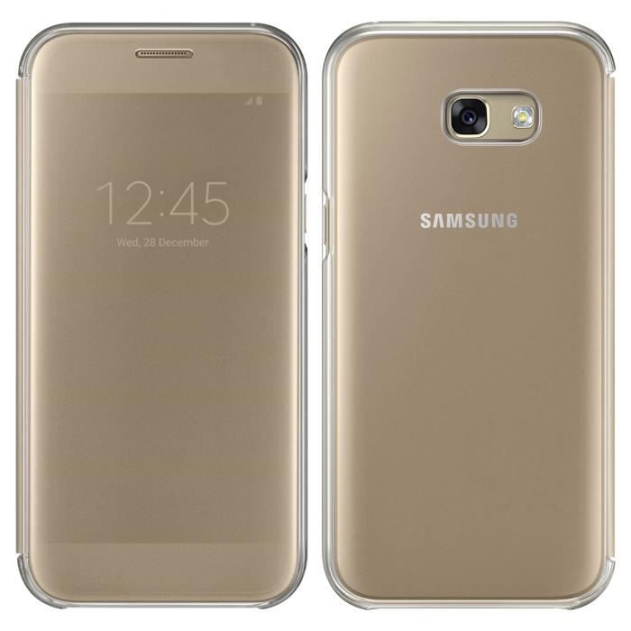 Samsung Clear View Cover A5 2017 - Or