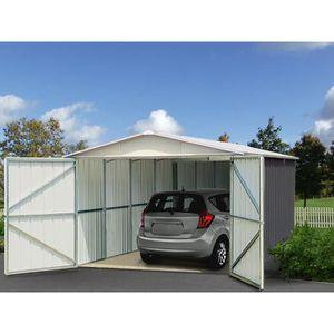 GARAGE YARDMASTER Garage en métal 15,50m² - Anthracite et