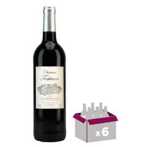 VIN ROUGE Château Festiano 2017 Minervois - Vin rouge du Lan