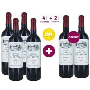 VIN ROUGE Château Graves du Privera 2017 Médoc - Vin rouge d