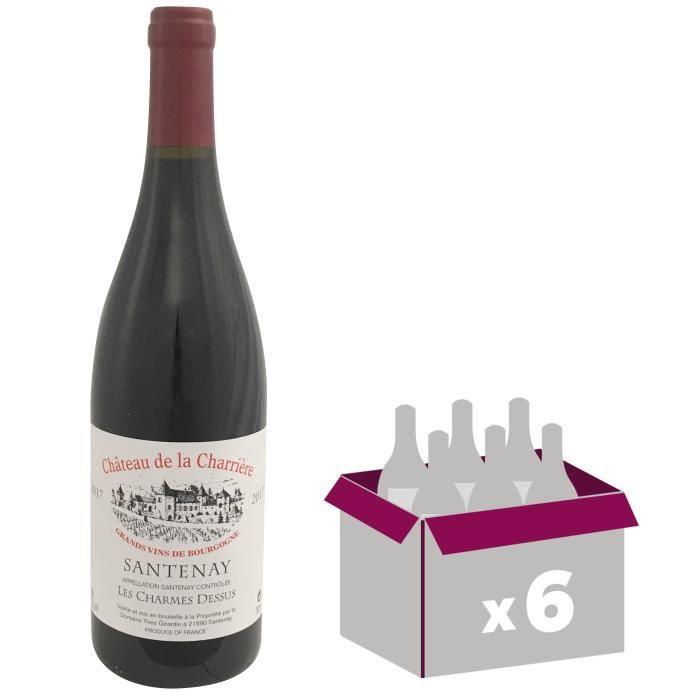 VIN ROUGE Château Charrière 2017 Santenay Charmes Dessus - V