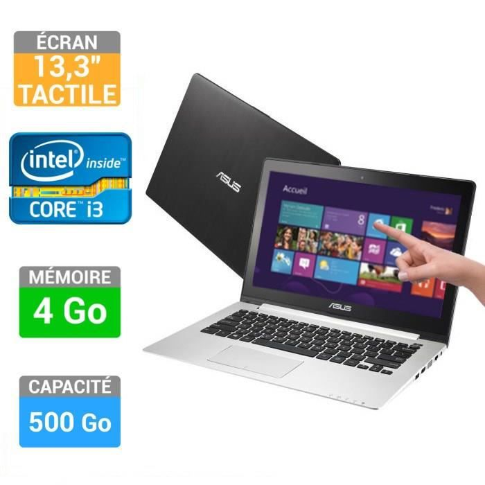 asus pc portable tactile s300ca c1017h prix pas cher cdiscount. Black Bedroom Furniture Sets. Home Design Ideas