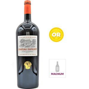 VIN ROUGE Magnum Château Dufilhot 2017 Côtes de Bordeaux - V