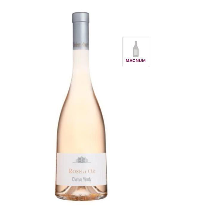 VIN ROSÉ Magnum Château Minuty Rose et Or 2017 Côtes de Pro