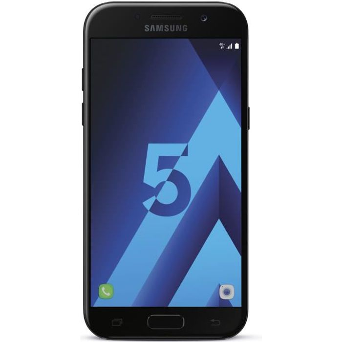 samsung galaxy a5 2017 noir achat smartphone pas cher. Black Bedroom Furniture Sets. Home Design Ideas