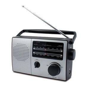 RADIO CD CASSETTE CALIBER HPG 317R Radio portable AM / FM - Look rét