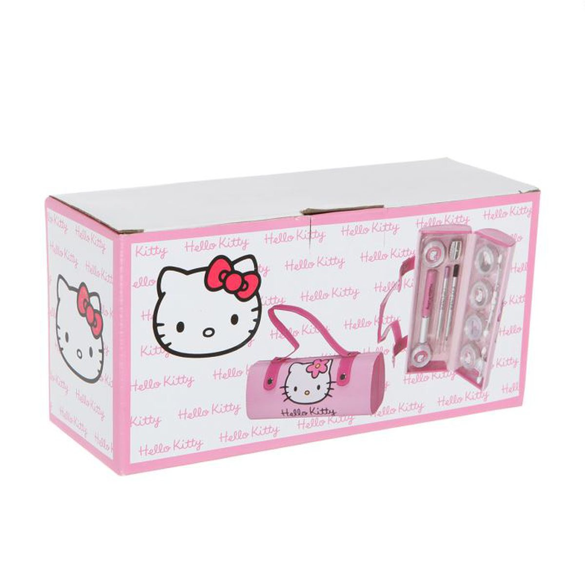 malette de maquillage hello kitty achat vente palette. Black Bedroom Furniture Sets. Home Design Ideas