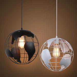 LUSTRE ET SUSPENSION Lustre Suspension Métal LED E27 Earth Style indust
