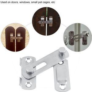 Alliage Porte Coulissante Fenêtre à Guillotine Verrou de sécurité croissant type bidirectionnel Locks