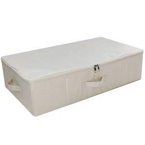BOITE DE RANGEMENT Cubes de rangement sous le lit avec couvercle, ran