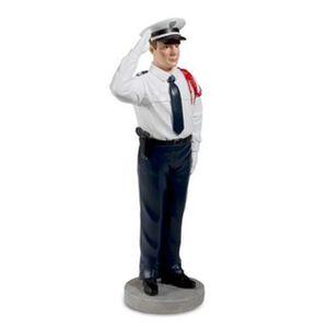 FIGURINE - PERSONNAGE POLICIER EN TENUE DE CEREMONIE - Collection Police