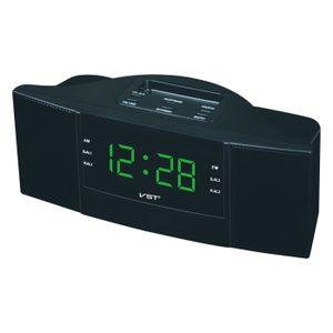 Radio réveil Radio reveille FM/AM, Horloge digitale, Reveil Mat