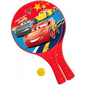 RAQUETTES DE PLAGE CARS - Jeu de raquettes de plage Cars Disney